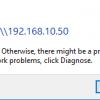 ارور عدم دسترسی به فایلهای اشتراکی