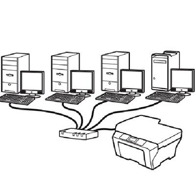 اشتراک پرینتر تحت شبکه در سازمان