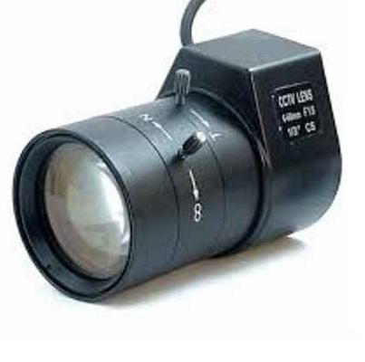 لنز یک دوربین مداربسته که بصورت Vari focal میباشد و تنظیم آن به صورت دستی است