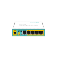 RB750UBR2 روتر میکروتیک با ۵ عدد اترنت که ۴ اترنت آن POE است
