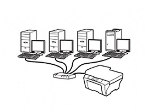 نحوه به اشتراک گذاشتن یک پرینتر در شبکه و استفاده از آن