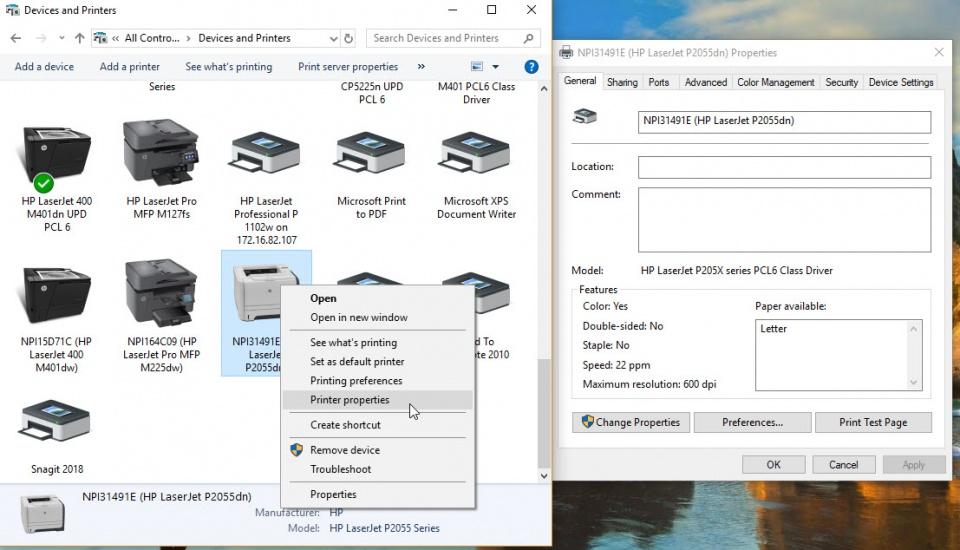 نحوه share کردن پرینتر های USB در ویندوز 10 - آموزش اشتراک پرینتر در شبکه