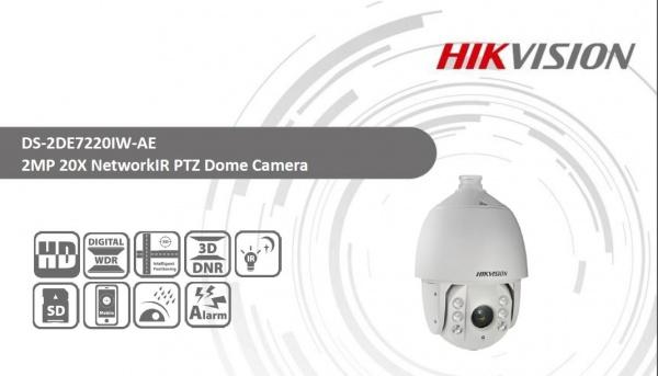 دوربین اسپید دام هایک ویژن مدل DS-2DE7220IW-AE-2