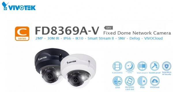 دوربین ۲ مگاپیکس ضد آب و ضد ضربه ویوتک مدل FD8369A-V