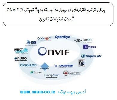 نرم افزارهای دوربین مداربسته امروزه در بازار اکثر پروتکل ONVIF را ساپورت میکنند
