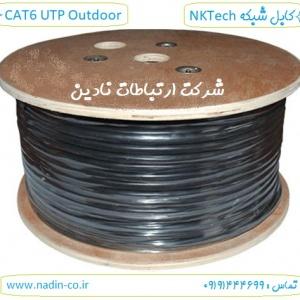 کابل cat6 utp outdoor برند nktech