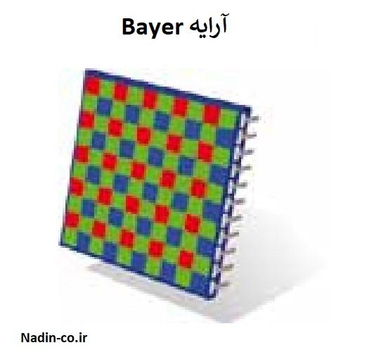 پرکاربرد ترین فیلتر جهت استفاده سنسورها آرایه Bayer است