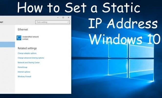 آموزش نحوه تغییر آدرس IP در ویندوز