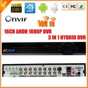 دی وی آر 16 کانال نایک ویژن - با قابلیت ورودی صدا تا 6 کانال و ضبط تصاویر 2 مگاپیکسل - دارای پشتیبانی از وای فای
