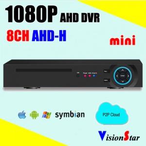 دستگاه دی وی آر 8 کانال نایک ویژن با 4 ورودی صدا و کیفیت تصویر 1080P