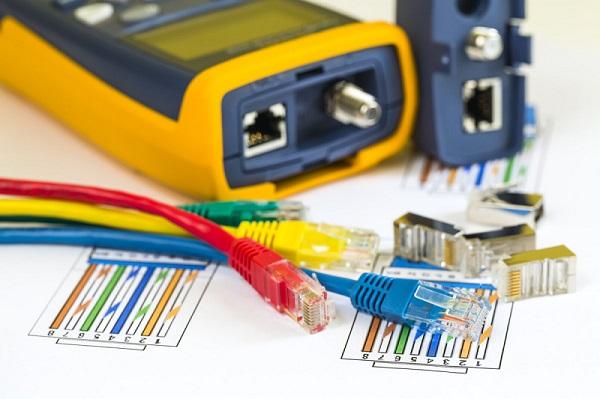 تستر کابل شبکه فلوک - نحوه تست کابل شبکه cat6 با دستگاه تست فلوک شبکه