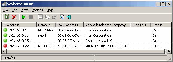 روشن کردن کامپیوتر از راه دور با استفاده از نرم افزار Wake On LAN