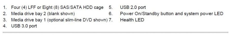 مشخصات سرور HP ML30 G10